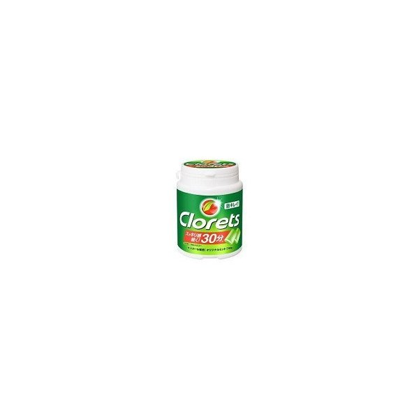 クロレッツ ボトル ガム オリジナル ミント 緑 Clorets ecoland8