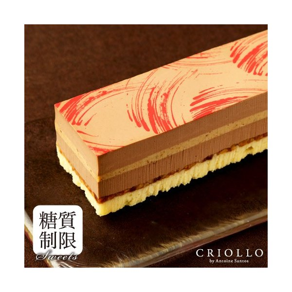 プレゼント ギフト スリム・プラリネ・ノワゼット 糖質制限 ロカボ チョコレートケーキ   冷凍便