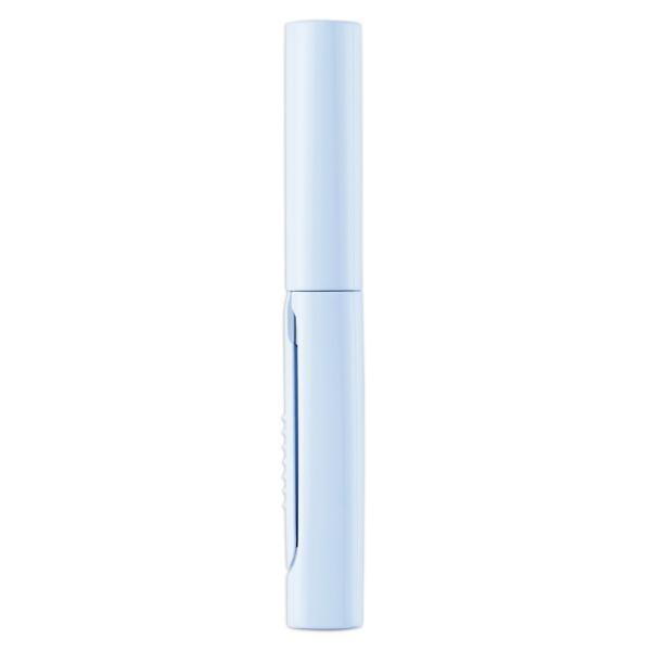 プラス(PLUS) 携帯はさみ フィットカットカーブ ツイッギー ポーチサイズ フッ素コート ブルー SC-100PF 35-259