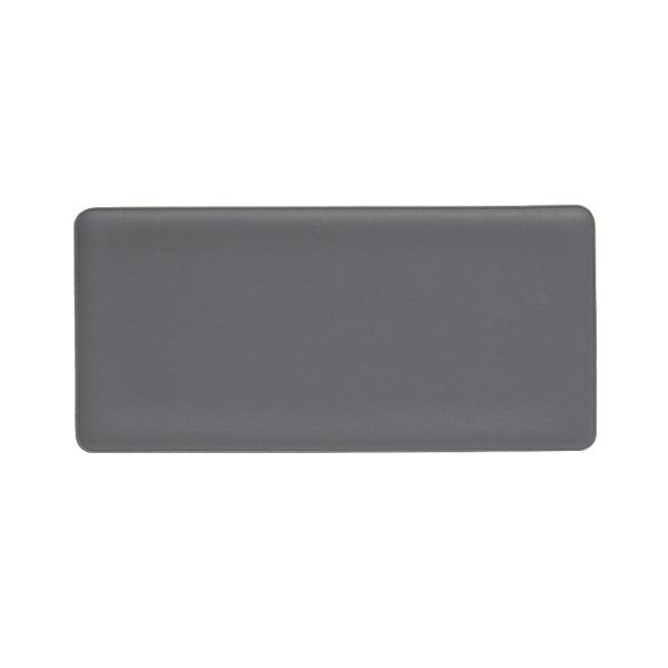 プラス(PLUS)印章用品 捺印マット 中 小切手・手形サイズ グレー IS-211D 37-019