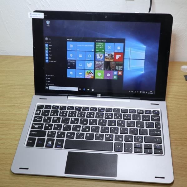 特価アウトレットKEIAN 2IN1WindowsタブレットPC 10.1インチ IPS液晶 1280x 800ドット クアッドコア メモリ2GB Windows 10