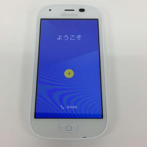 【中古】らくらくスマートフォン4 らくらくスマートフォン4 F-04J 本体 docomo 16GB ホワイト rm-02218|ecosma|03