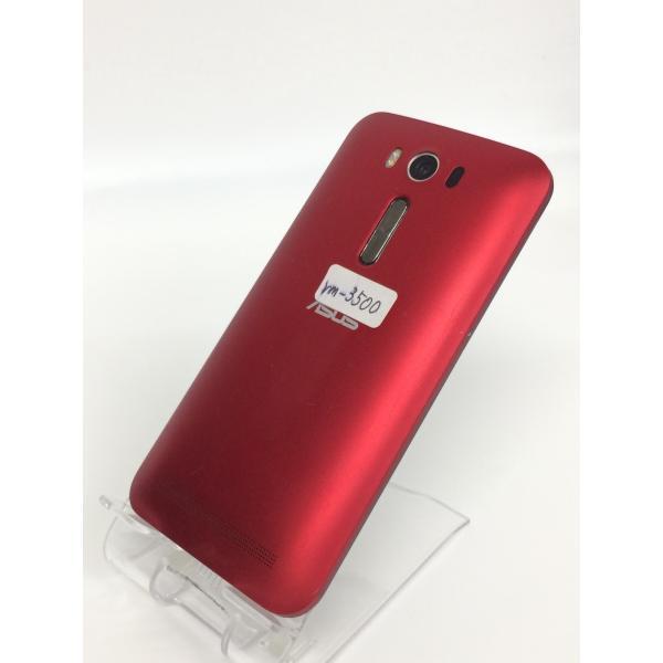 【中古】ZenFone2 Laser ASUS Z00ED  SIMフリー 8GB レッド rm-03500|ecosma|02
