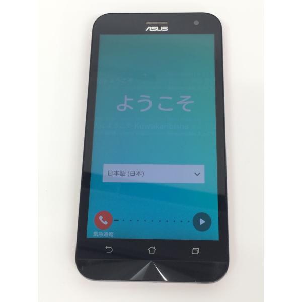 【中古】ZenFone2 Laser ASUS Z00ED  SIMフリー 8GB レッド rm-03500|ecosma|03