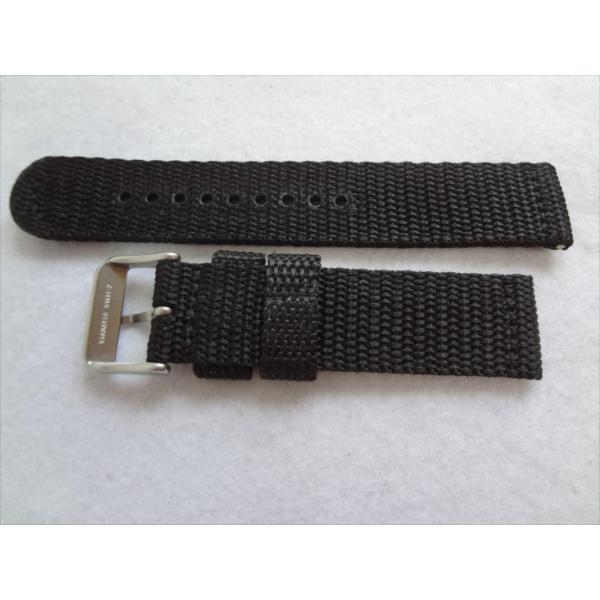 SEIKO 純正バンド 20mm 腕時計 SND399P 7T94-0AL0 7T94-0AH0 7T92-0CX0 7T92-0DX0用 ナイロン 交換ベルト 黒色 黒 ブラック|ecwide|02