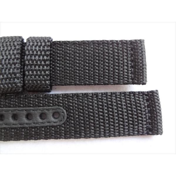 SEIKO 純正バンド 20mm 腕時計 SND399P 7T94-0AL0 7T94-0AH0 7T92-0CX0 7T92-0DX0用 ナイロン 交換ベルト 黒色 黒 ブラック|ecwide|05