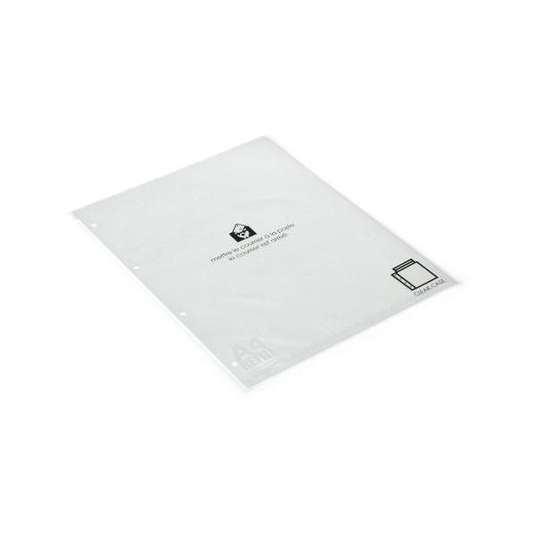 A4クリアポケット[BASIS] クリア|edc