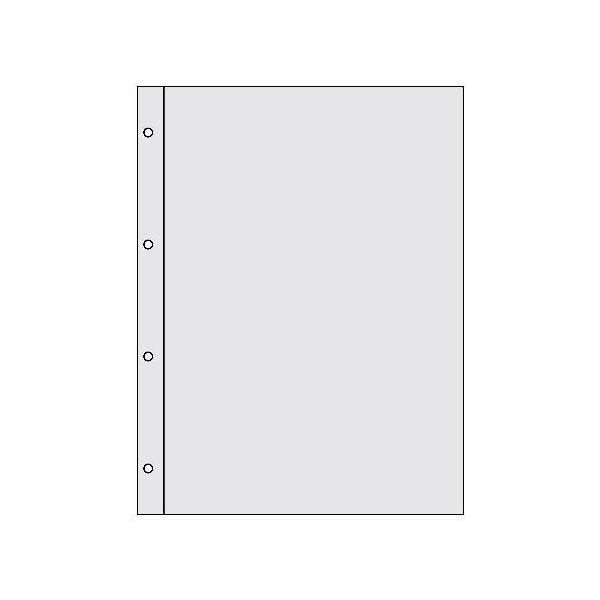 A4クリアポケット[BASIS] クリア|edc|03