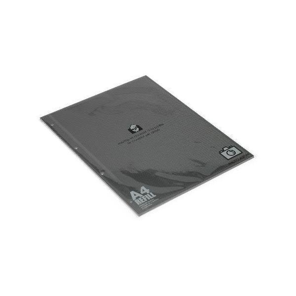 A4アルバムレフィル[BASIS] ブラック edc