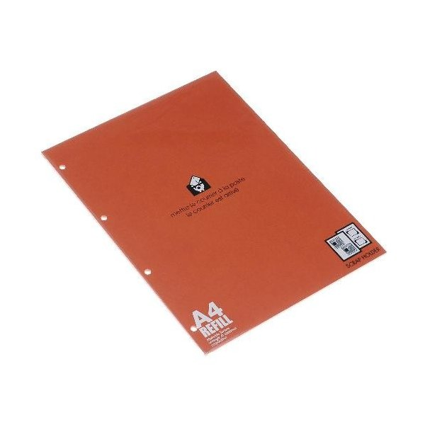 A4スクラップ厚口台紙[BASIS] バーミリオン edc