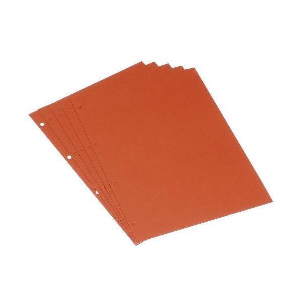 A4スクラップ厚口台紙[BASIS] バーミリオン edc 02