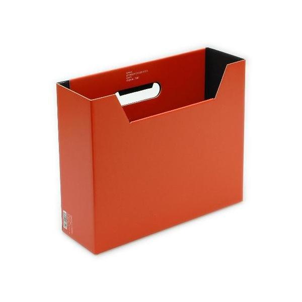 ファイルボックス A4 SOLID3 紙製 収納ボックス マガジンボックス 公式通販サイト|edc|03