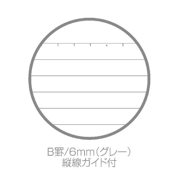 A5ノート モネ1 PDM 罫線 アート 新学期 公式通販サイト|edc|03