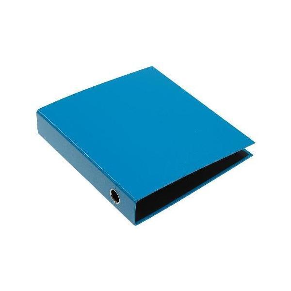A4レバーファイル55[CUOIO] ライトブルー|edc