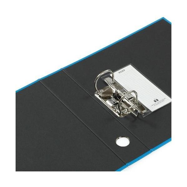 A4レバーファイル55[CUOIO] ライトブルー|edc|02