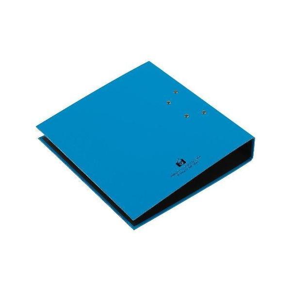 A4レバーファイル55[CUOIO] ライトブルー|edc|03