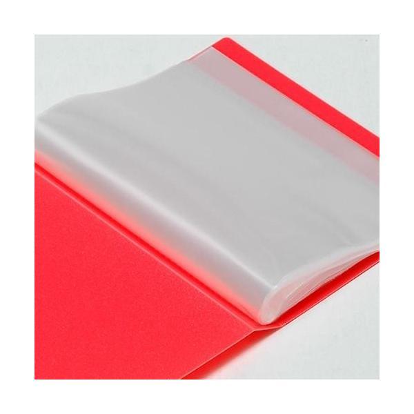 ポストカードファイル オレンジ edc 02