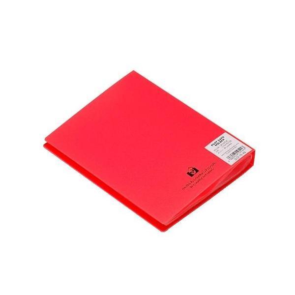 ポストカードファイル オレンジ edc 03