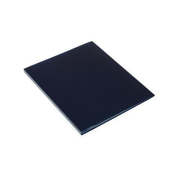 クリアファイル A4 20ポケット インディゴ SOLID シンプル 公式通販サイト|edc