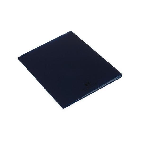 クリアファイル A4 20ポケット インディゴ SOLID シンプル 公式通販サイト|edc|03