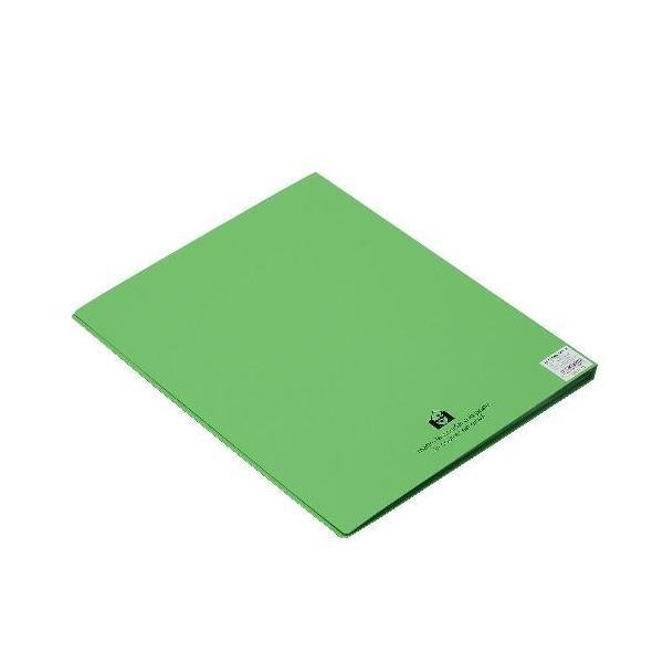 クリアファイル A4 20ポケット アップル SOLID シンプル 公式通販サイト edc 03