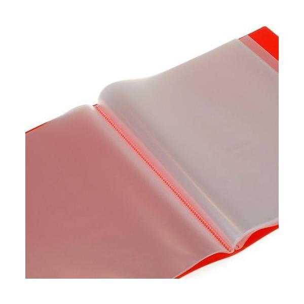 クリアファイル A4 40ポケット キャロット SOLID シンプル 公式通販サイト|edc|02
