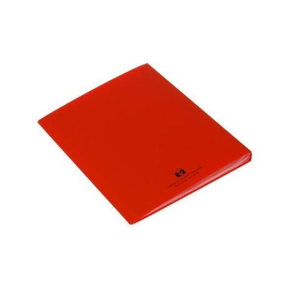 クリアファイル A4 40ポケット キャロット SOLID シンプル 公式通販サイト|edc|03