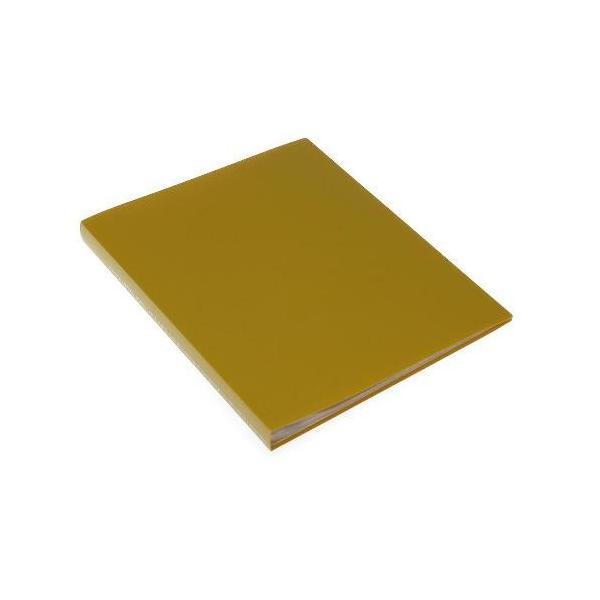 クリアファイル A4 40ポケット マスタード SOLID シンプル 公式通販サイト|edc