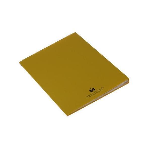 クリアファイル A4 40ポケット マスタード SOLID シンプル 公式通販サイト|edc|03
