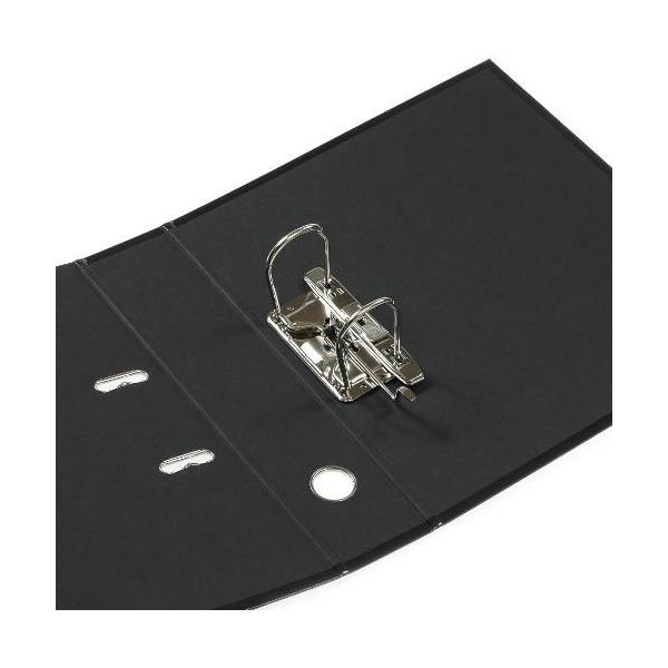 A4レバーファイル75[SOLID2] ブラック|edc|02