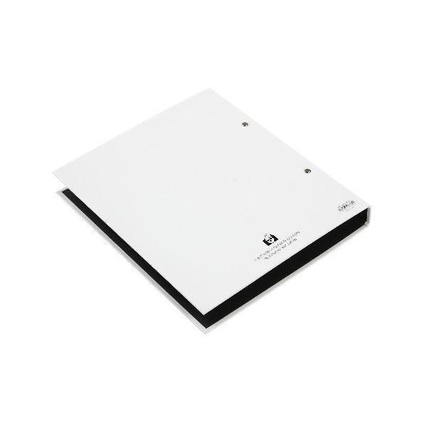 A4 2Hファイル[SOLID2] ホワイト|edc|03