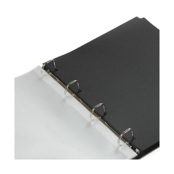 A4ポケットファイル[SOLID2] ブラック|edc|02