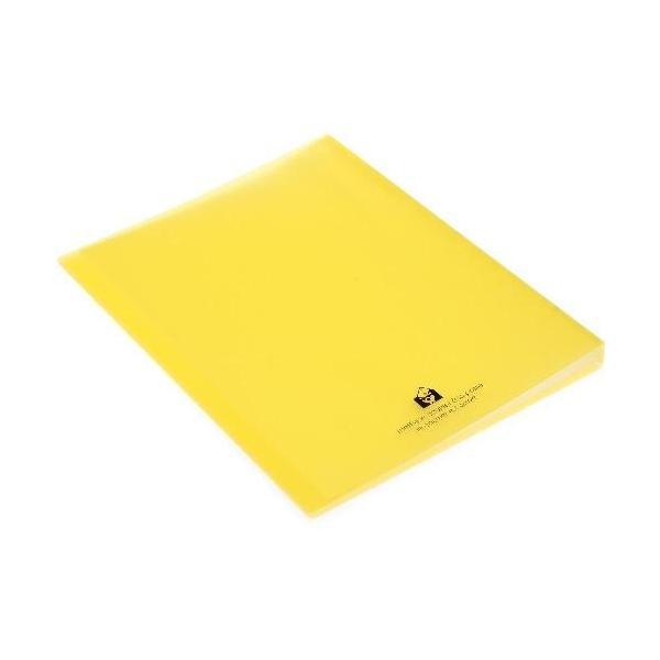 クリアファイル A4 40ポケット イエロー TRANSPARENCY 透明 シンプル 公式通販サイト|edc|03