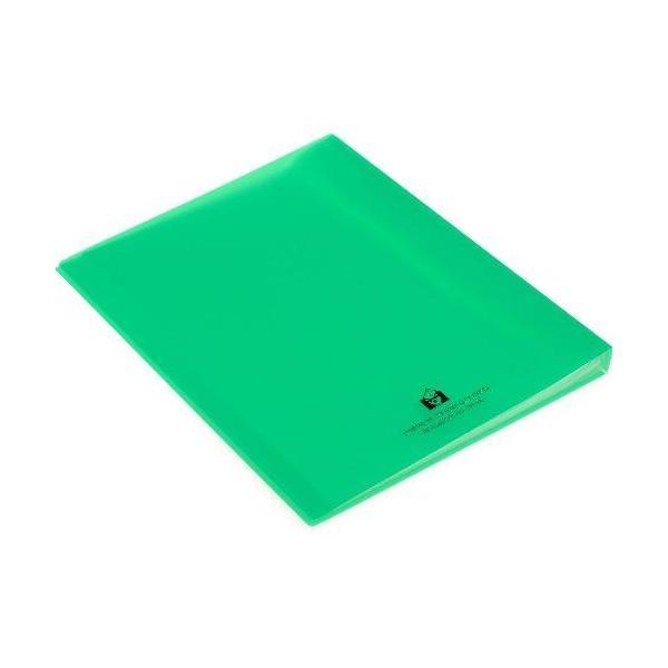 クリアファイル A4 40ポケット グリーン TRANSPARENCY 透明 シンプル 公式通販サイト|edc|03