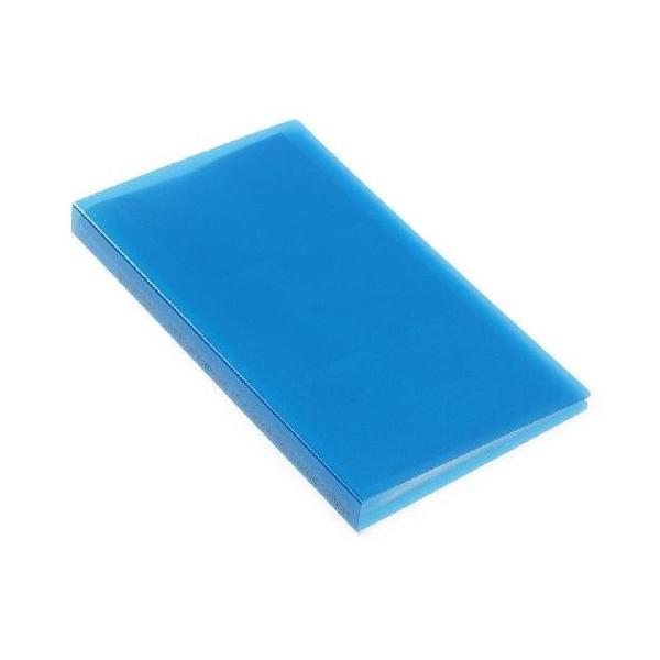 名刺ホルダー 120ポケット ブルー TRP クリアファイル 収納 シンプル 公式通販サイト