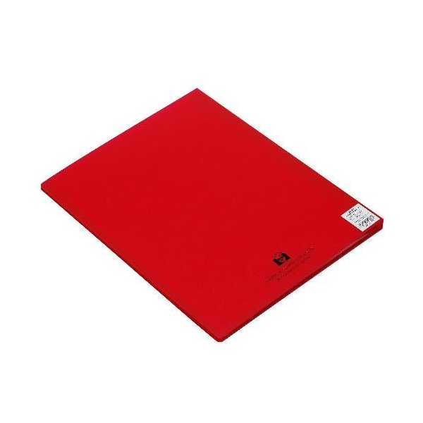 クリアファイル A4 20ポケット(A3対応) レッド TRANSPARENCY サイドイン 透明 シンプル 公式通販サイト|edc|02