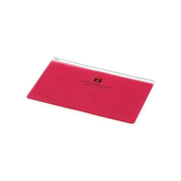 ジッパーポケットペン[TRP] ピンク|edc