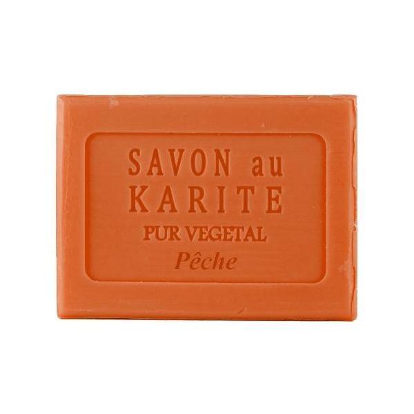 シアバターソープ100g ピーチ 石鹸 プレゼント 女性 プランツ&パルファム 公式通販サイト