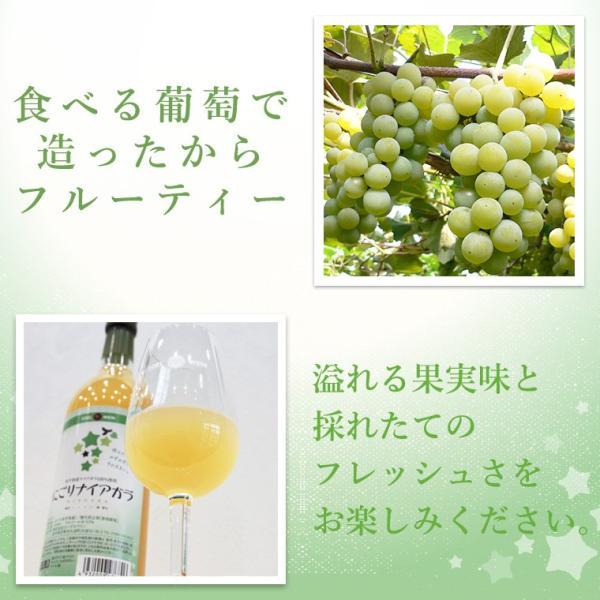エーデルワイン にごりナイアガラ 白ワイン 甘口 edelwein 03