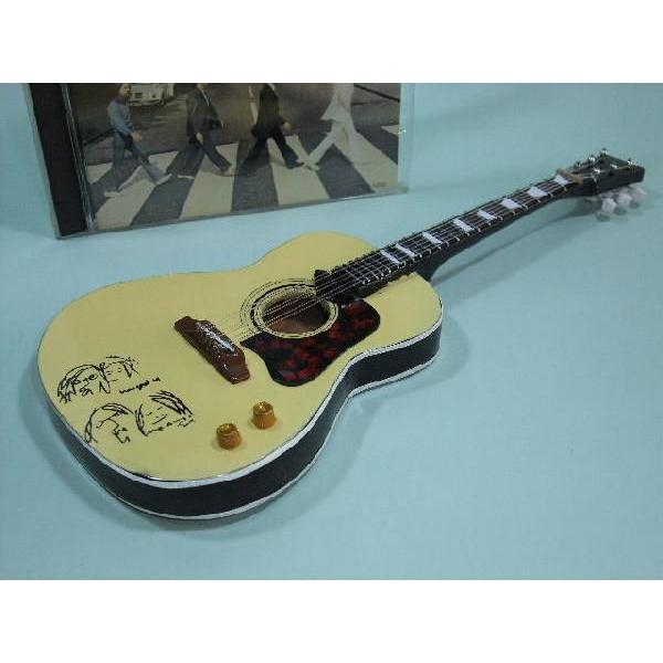 ギブソン アコースティック ギター J-160E 1/5スケール ミニレプリカ ジョン レノン ビートルズ