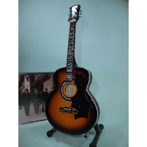 エルヴィスプレスリーギブソンアコースティックギターJ-2001/5スケールミニレプリカ