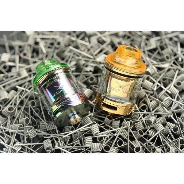 ベイプ OUMIER【Wasp Nano RTA 23mm】 電子たばこ vape ワスプ [E-2宅配便]|edgejp|12