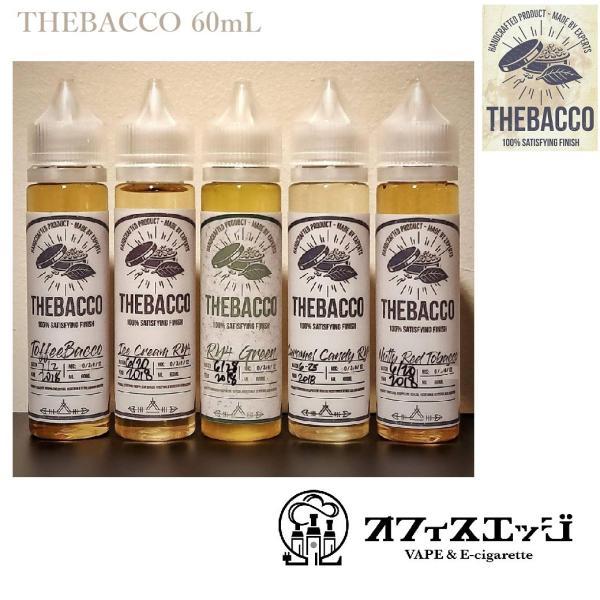 初回入荷お試し価格 THE BACCO 60mL made by EXPERTS 各種フレーバー tザバッコ 電子たばこ リキッド vape edgejp