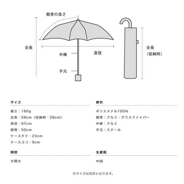 wpc パラソル 日傘 雨傘 折り畳み傘 晴雨兼用 シンプル edie 11
