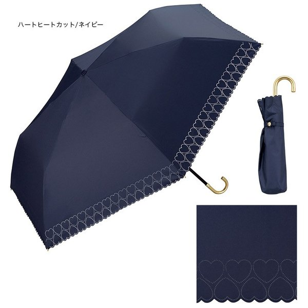 wpc パラソル 日傘 雨傘 折り畳み傘 晴雨兼用 シンプル edie 06