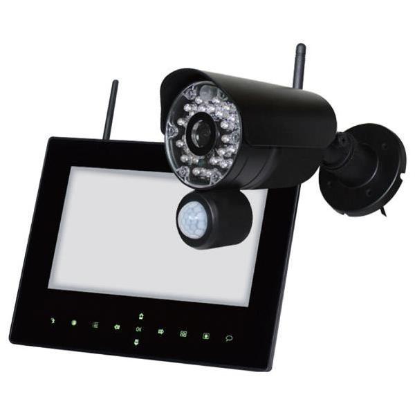 日本セキュリティー 屋外ワイヤレスカメラセット NS-9015WMS [NS9015WMS]