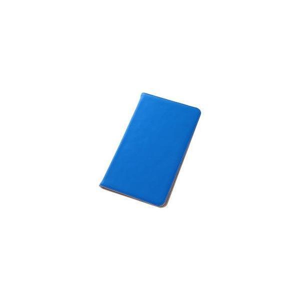 レイアウト MEMOPAD8用レザーケース(ブルー) RT-MMP8LC1/A ブルーの画像