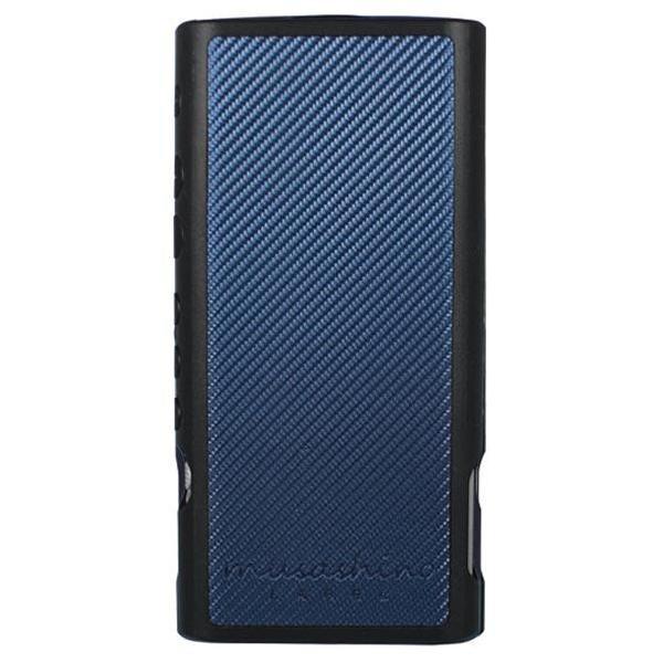 musashino LABEL NW-ZX300用フルアーマケース ブラック/カーボンブルー CP-NWZX30C1/BA [CPNWZX30C1BA]