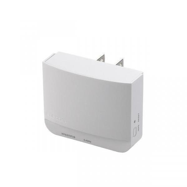 エレコム 無線LAN中継器 ホワイト WTC-300HWH [WTC300HWH]