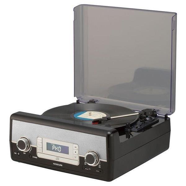 KOIZUMI マルチレコードプレーヤー SAD-9801/K [SAD9801K]